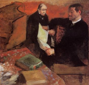 Edgar Degas : Pagan and Degas' Father