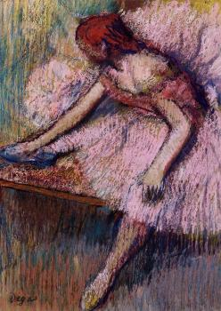 Edgar Degas : Pink Dancer