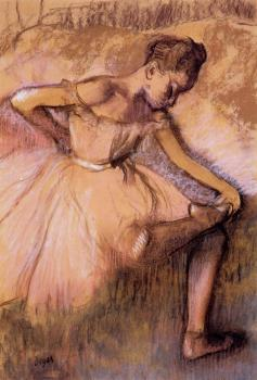 Edgar Degas : Pink Dancer II