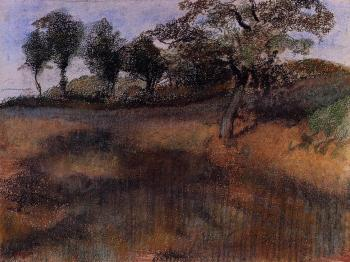 Edgar Degas : Plowed Field