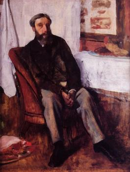 Edgar Degas : Portrait of a Man