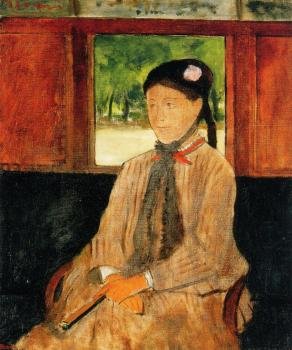 Edgar Degas : Portrait of a Woman