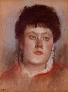 Edgar Degas : Portrait of a Woman II