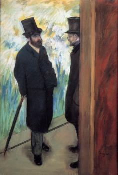 Edgar Degas : Portrait of Friends