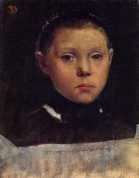 Edgar Degas : Portrait of Giulia Belleli