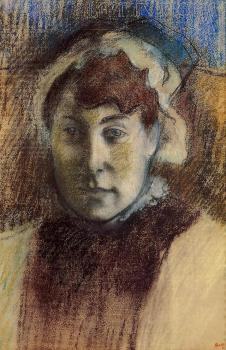 Edgar Degas : Portrait of Madame Ernest May