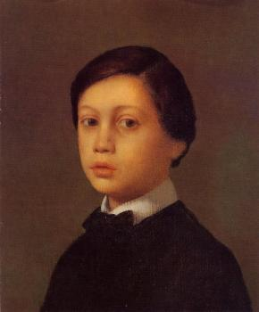 Edgar Degas : Portrait of Rene De Gas, The Artist Brother