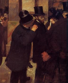 Edgar Degas : Portraits at the Stock Exchange
