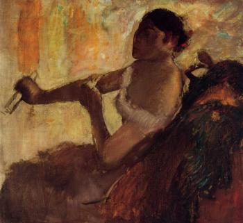 Edgar Degas : Rose Caron