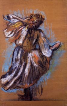 Edgar Degas : Russian Dancer