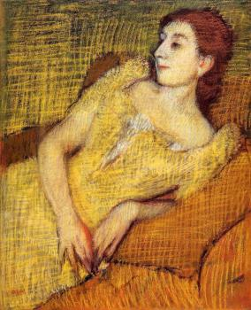 Edgar Degas : Seated Woman