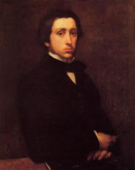 Edgar Degas : Self-Portrait, II