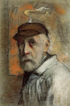 Edgar Degas : Self Portrait III