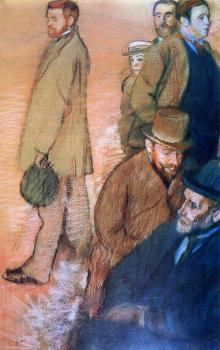 Edgar Degas : Six Friends of the Artist