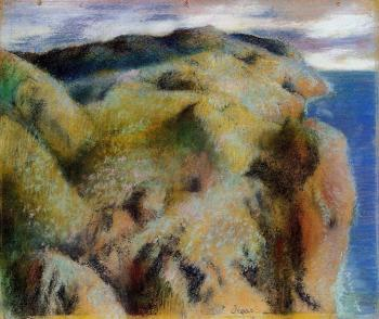 Edgar Degas : Steep Coast