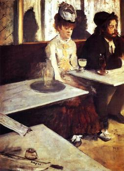 Edgar Degas : The Absinthe Drinker II