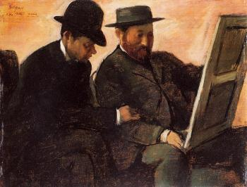 Edgar Degas : The Amateurs