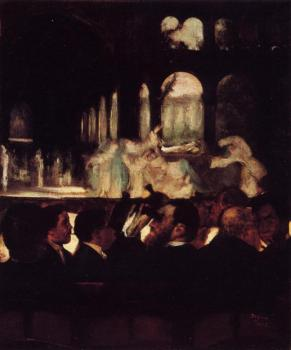 Edgar Degas : The Ballet Scene from Robert la Diable