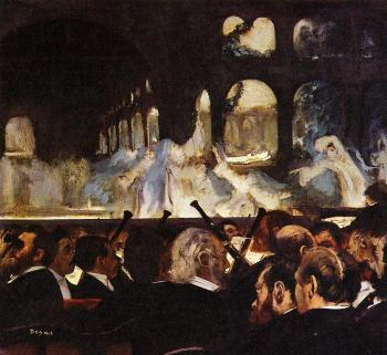 Edgar Degas : The Ballet Scene from Robert la Diable II