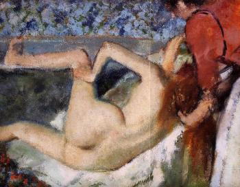 Edgar Degas : The Bath