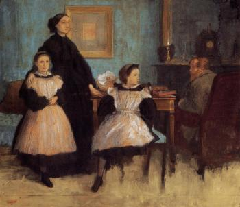 Edgar Degas : The Belleli Family