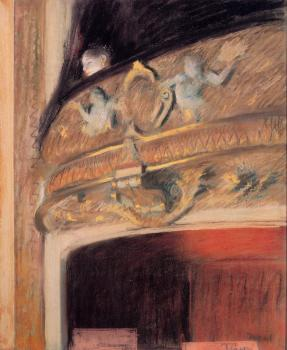 Edgar Degas : The Box at the Opera