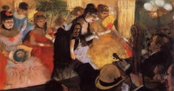 Edgar Degas : The Cafe Concert