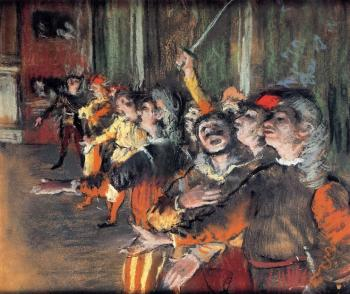 Edgar Degas : The Chorus
