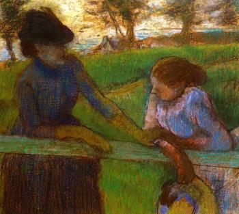 Edgar Degas : The Conversation