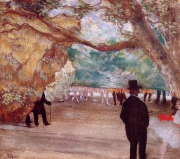 Edgar Degas : The Curtain