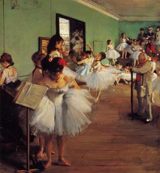 Edgar Degas : The Dance Class III
