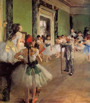 Edgar Degas : The Dance Class
