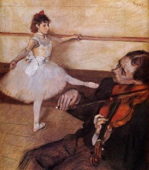 Edgar Degas : The Dance Lesson