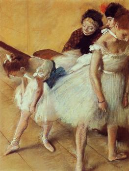 Edgar Degas : The Dancing Examination