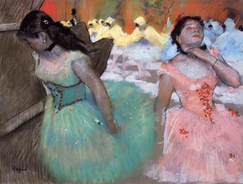 Edgar Degas : The Entrance of the Masked Dancers