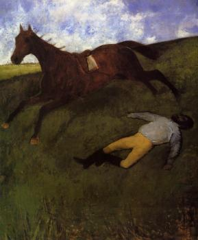 Edgar Degas : The Fallen Jockey