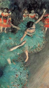 Edgar Degas : The Green Dancer