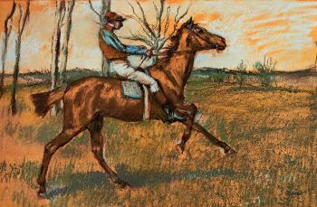 Edgar Degas : The Jockey
