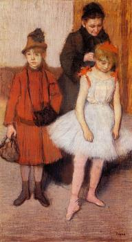 Edgar Degas : The Mante Family