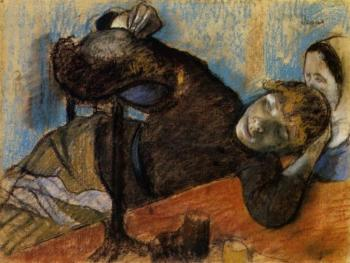 Edgar Degas : The Milliner