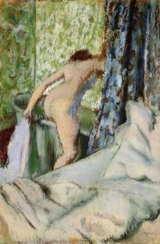 Edgar Degas : The Morning Bath