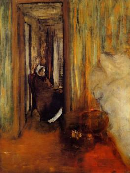 Edgar Degas : The Nurse
