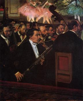Edgar Degas : The Orchestra of the Opera II
