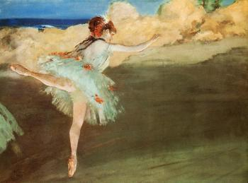 Edgar Degas : The Star   Dancer on Point