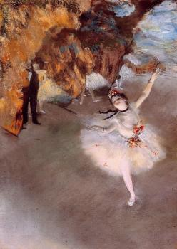 Edgar Degas : The Star II