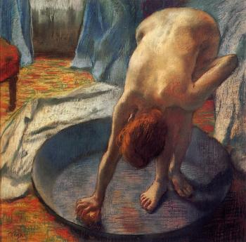 Edgar Degas : The Tub II