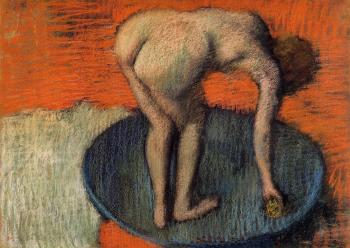 Edgar Degas : The Tub III