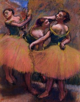 Three Dancers, Green Blouses