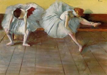 Edgar Degas : Two Ballet Dancers