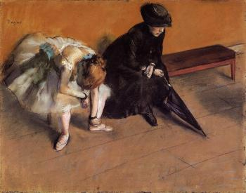 Edgar Degas : Waiting